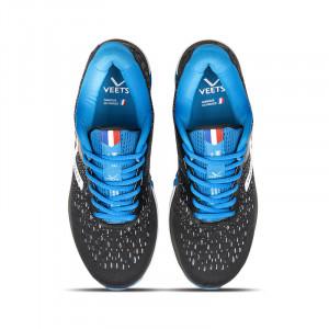 Lacets chaussure running homme Inside MIF 2.3 noir-bleu
