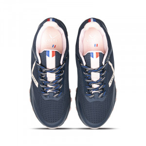 Lacets chaussure trail femme Veloce XTR MIF 3 bleu marine-rose