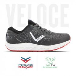 Chaussure running homme Veloce MIF 3 noir-gris
