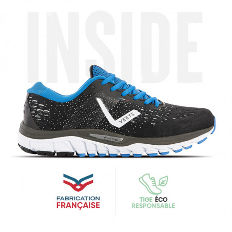 Chaussure homme running Inside MIF 3 noir-bleu